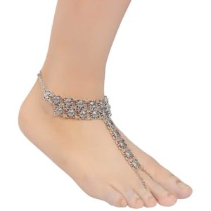 INSIA Silver Trendy Anklet