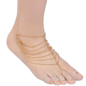 INSIA Layered Chain Anklet
