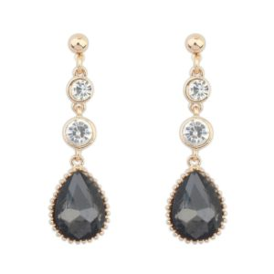 Insia Midnight Moon Trendy Earrings