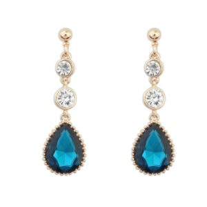 Insia Timeless Turq Trendy Earrings