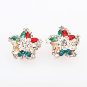 Insia Crystal Bloom Trendy Earrings