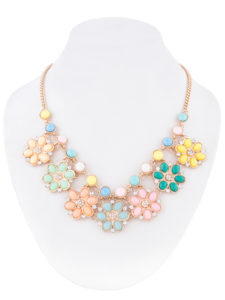 Insia Fireworks Bloom Fashion Necklace