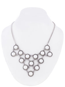 Insia Baubles n Linkz (Silver) Trendy Necklace