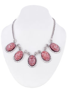Insia Gliterrati Ruby Trendy Necklace