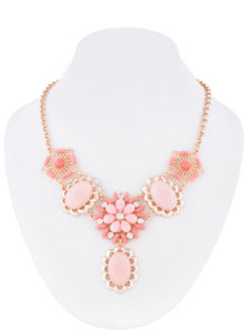Insia Ignatia Rose Fashion Necklace