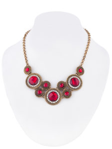 Insia Circle Of Life (Red) Allergy-Free Necklace