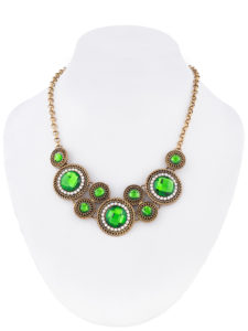 Insia Circle Of Life (Green) Trendy Necklace