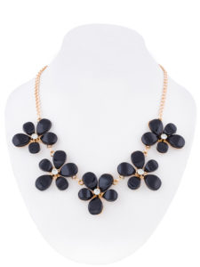 Insia Flirty Floral Fashion Necklace