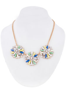 Insia Floral Bunch Fashion Necklace