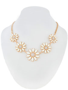 Insia Daisy Bloom Fashion Necklace