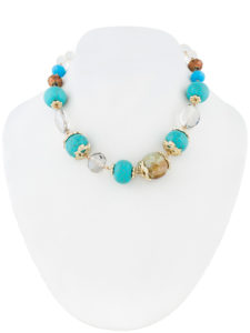 Insia Crystal Beads Allergy-Free Necklace