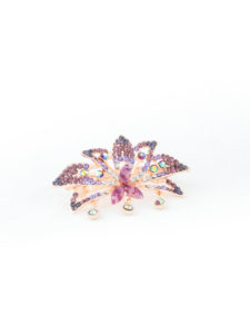 Insia Blossom Lilac Trendy Hair Accessory