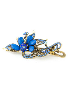 Insia BIa Blue Fashion Hair Accessory
