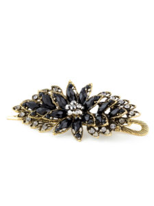 Chryssa Black Trendy Hair Accessory