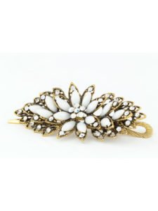 Chryssa White Fashion Hair Accessory