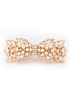 Insia Pearly Bow Trendy Hair Accessory