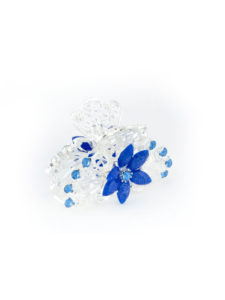 Insia Kasha Blue Fashion Hair Accessory