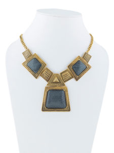 Insia Block Out Fashion Necklace