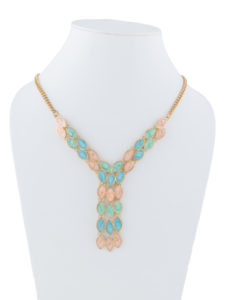 Insia Tie-Up Bling Fashion Necklace
