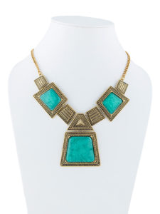 Insia Block Out Blu Allergy-Free Necklace