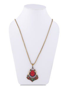 Insia Festive Sizzle Fashion Pendant Necklace