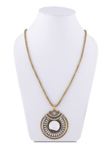 Insia Midnight Moon Allergy-Free Pendant Necklace