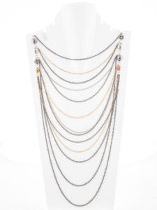 Insia Chain Reaction Fashion Necklace