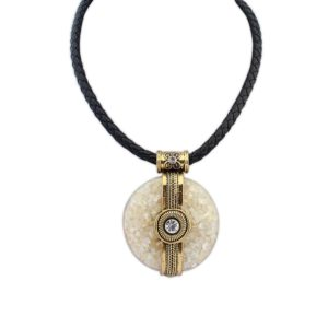 Insia Encircle Charm Allergy-Free Necklace