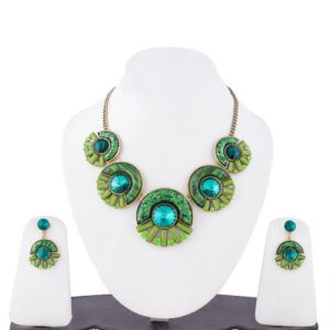 Insia Cosmo Forest Allergy-Free Necklace Set