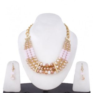 Insia Crystal Calm Allergy-Free Necklace Set
