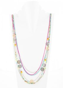Insia Kiss Bliss Fashion Necklace