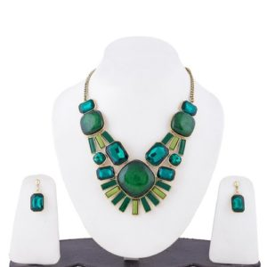 Insia Mystic Beryl Allergy-Free Necklace Set