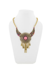Insia Princess Pink Fashion Necklace