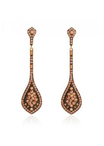 Insia Ziba Peach Allergy-Free Earrings