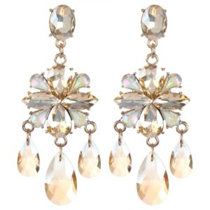 INSIA Floral Drop Party Earrings