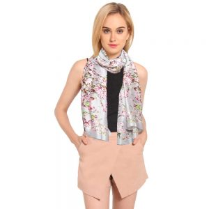 INSIA Cherry Floral Scarf