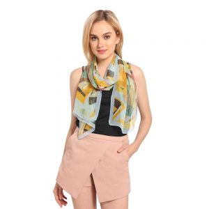 INSIA Printed Fashion Scarf