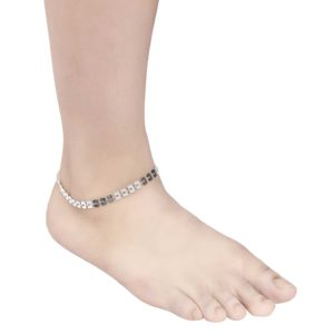 INSIA Silver Fashion Anklet