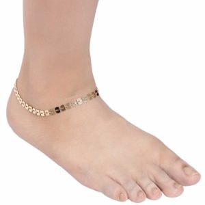 INSIA Golden Fashion Anklet
