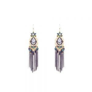 INSIA Black Party Fashion Earrings