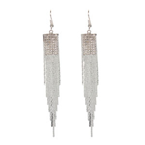 Insia long tassel earrings