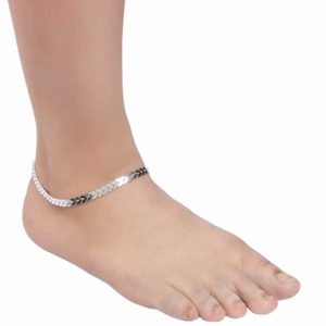 INSIA Silver Anklet